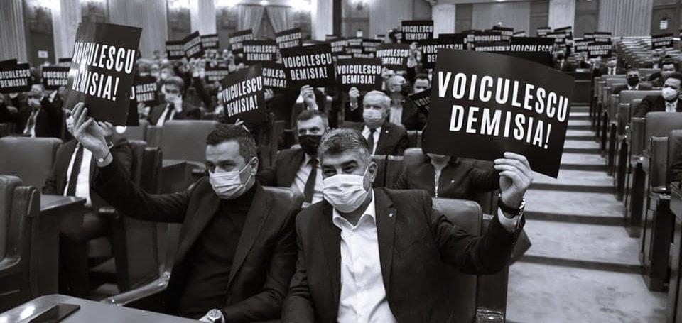 PSD depune moțiune pentru demiterea lui Vlad Voiculescu