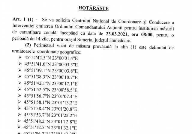 CASCADORII RÂSULUI: Autorități din Hunedoara obligă oamenii să învețe coordonate geografice pentru o carantină corectă