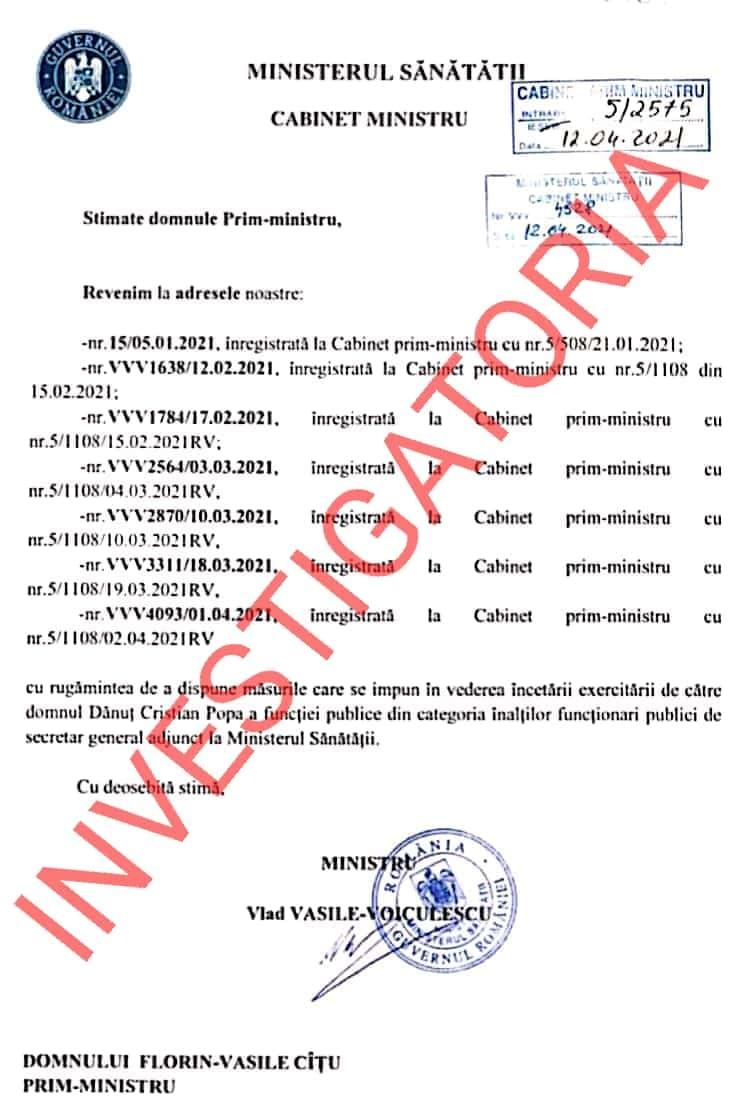 Investigatoria exclusiv document MS