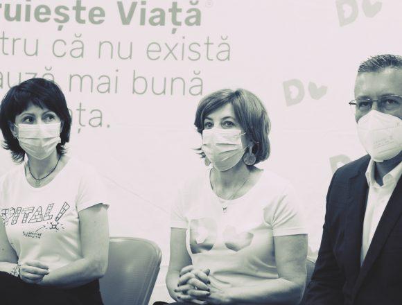 """EXCLUSIV: Oana Gheorghiu, după inaugurarea spitalului modular de la Piatra Neamț: """"Am spus din start că nu vrem să vedem picior de politician"""""""